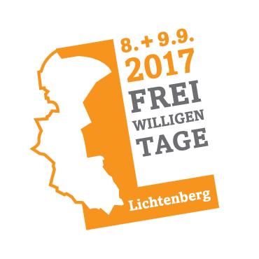 Logo der Lichtenberger Freiwilligentage 08. + 09.09. 2017