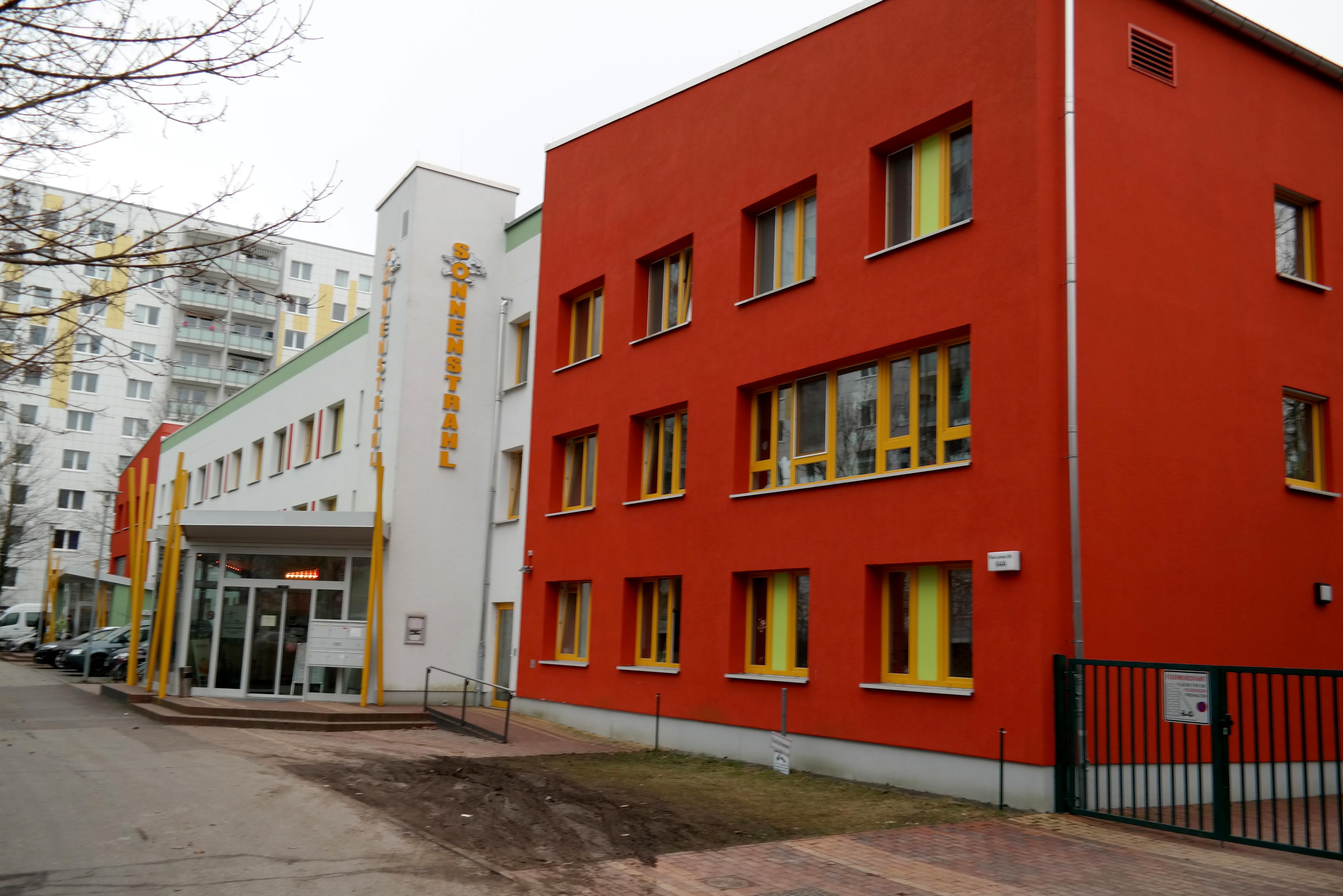 Eingang zum StadtteilzentrumEingang zum Haus der Generationen